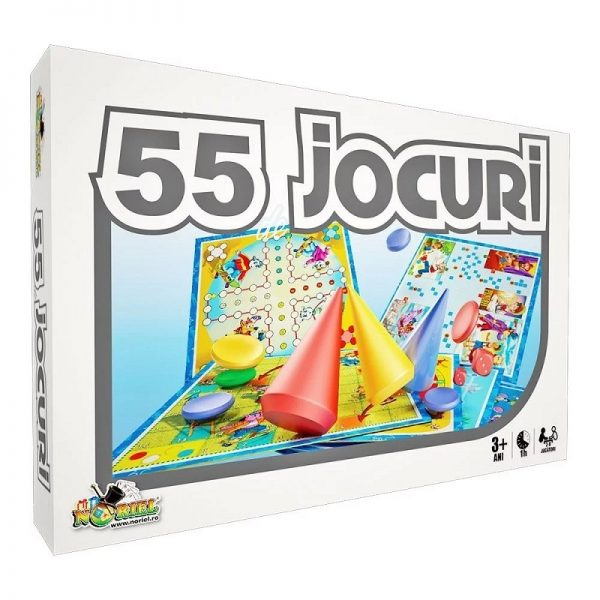 55 de Jocuri intr-unul singur
