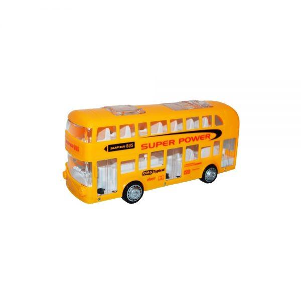 Autobuz etajat cu baterii