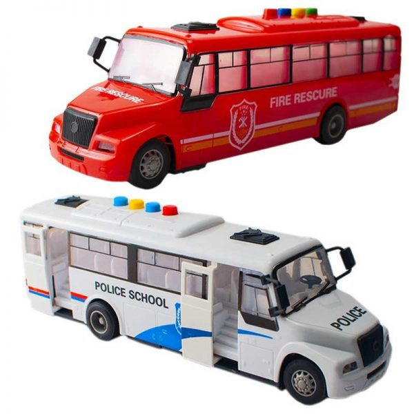 Autobuz scolar cu baterii