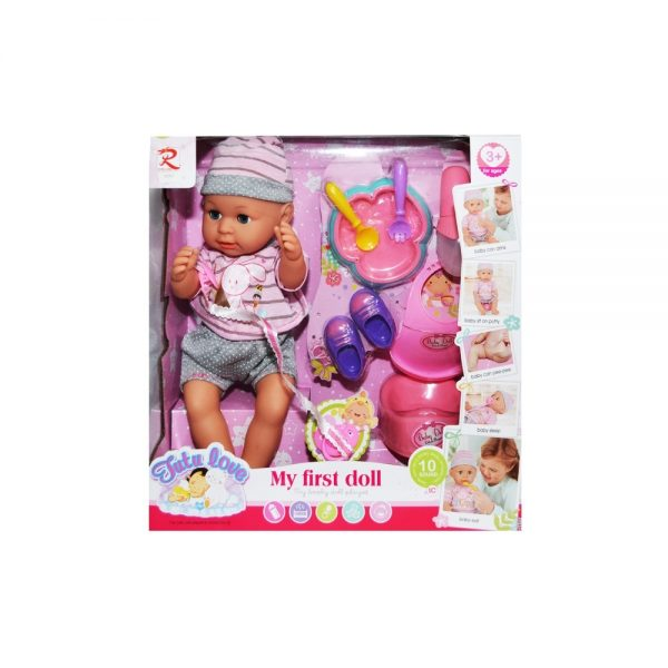 Bebelus care face pipi + olita + accesorii