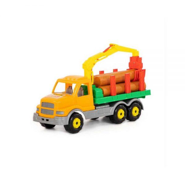 Camion cu lemne - Gigant