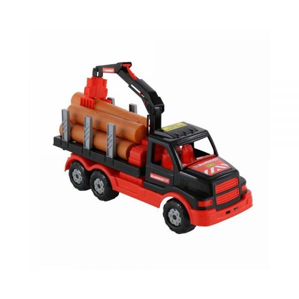 Camion cu lemne - Mammoet