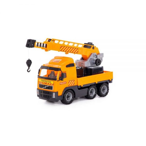 Camion cu macara - Volvo PowerTruck