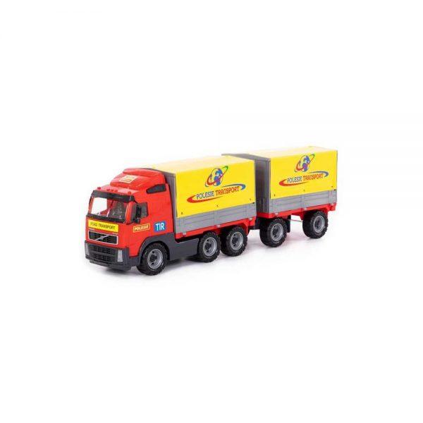 Camion cu remorca + prelata - Volvo PowerTruck