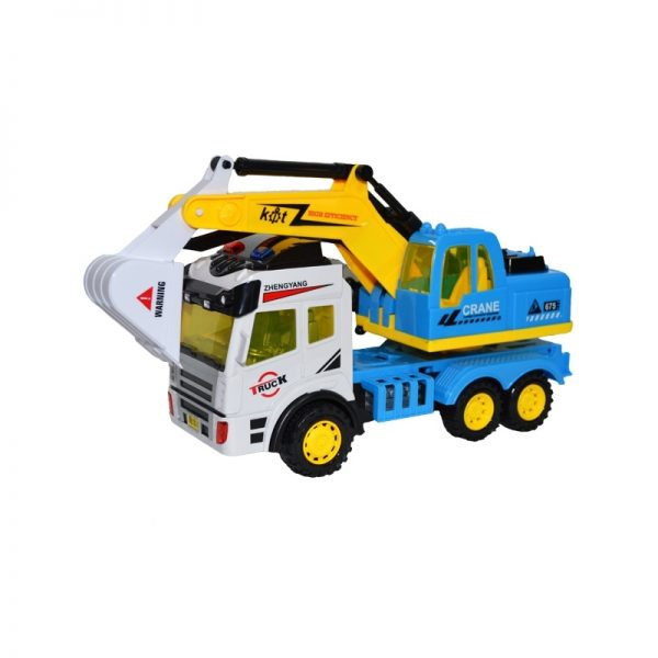 Camion excavator frictiune