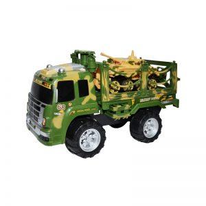 Camion militar cu tanc