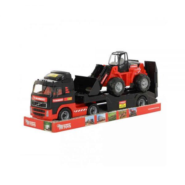 Camion+buldozer - Mammoet
