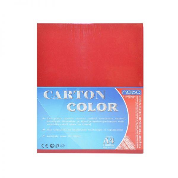 Carton color A4 250g Set 100 - NEBO
