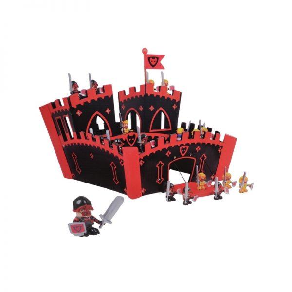 Castel medieval de lemn