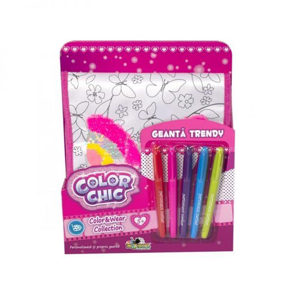 Color Chic - Geanta trendy cu paiete reversibile