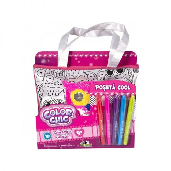 Color Chic - Poseta Cool cu paiete reversibile