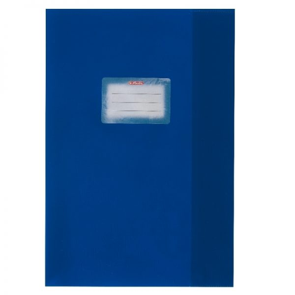 Coperta pp A4 albastru inchis Herlitz