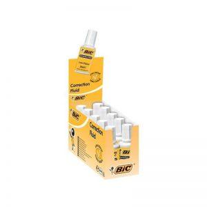 Corector fluid cu pensula 20 ml 10/cutie - BIC