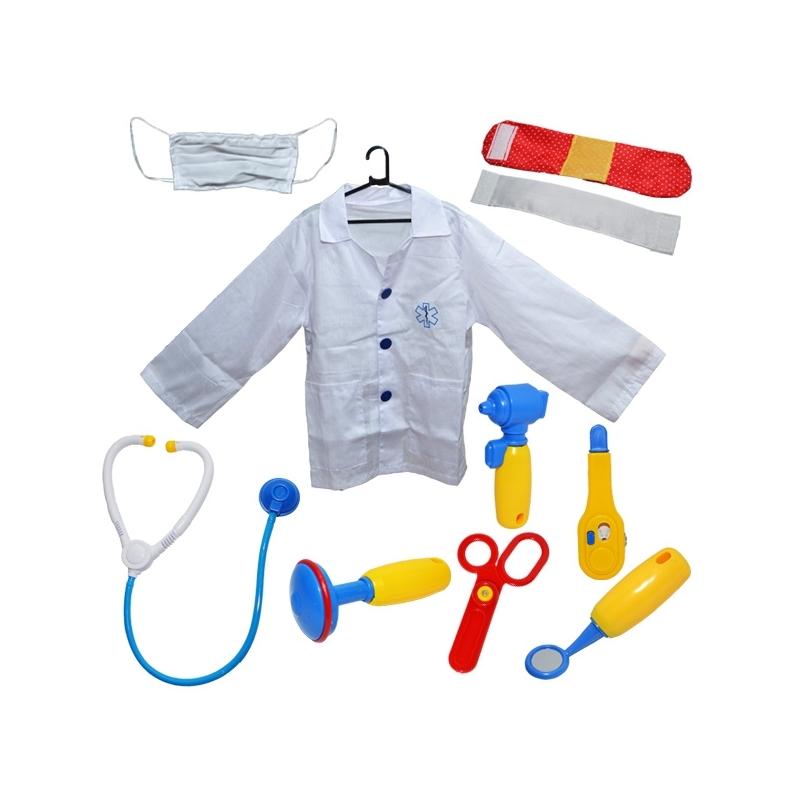 Costum doctor cu accesorii