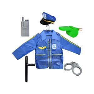 Costum politist cu accesorii