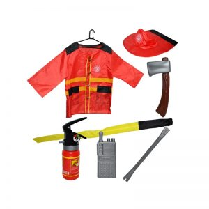 Costum pompier cu accesorii