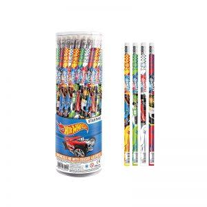 Creion cu guma - Hot Wheels 48 buc/set - STARPAK