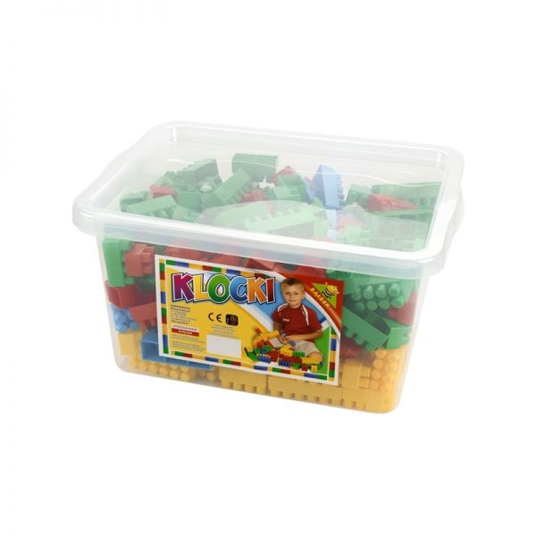 Cuburi constructii 300 piese/cutie