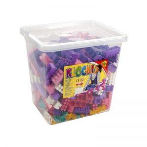 Cuburi constructii 500 piese/cutie