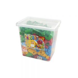 Cuburi constructii 500 piese/cutie - Tupiko