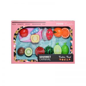 Fructe pretaiate + accesorii