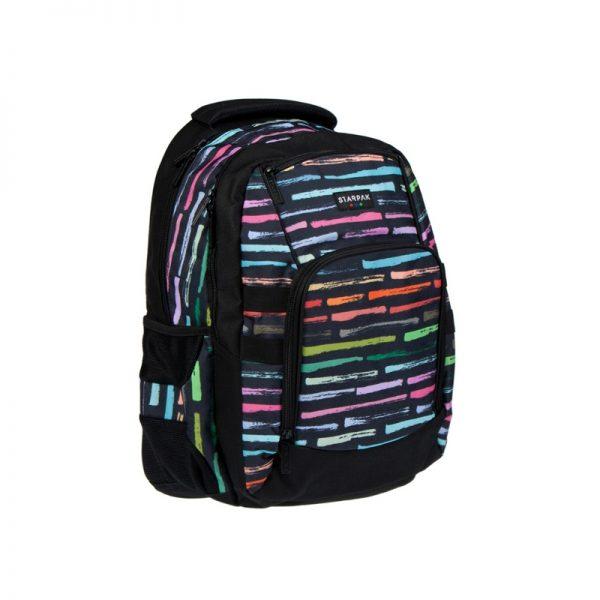 Ghiozdan compartiment laptop Art Stripes 46