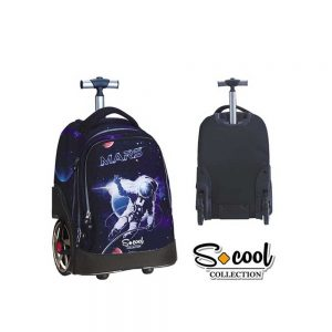 Ghiozdan trolley compartiment laptop