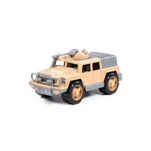 Jeep militar de aparare + mitraliera