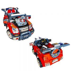 Jeep politie cu acumulator