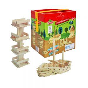 Joc constructii din lemn
