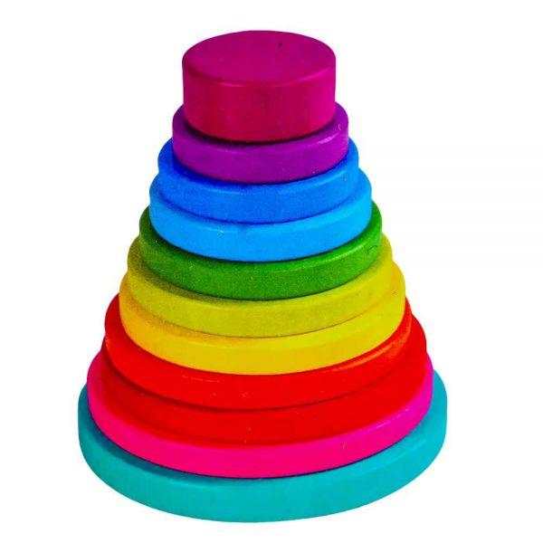 Joc piramida cu cercuri
