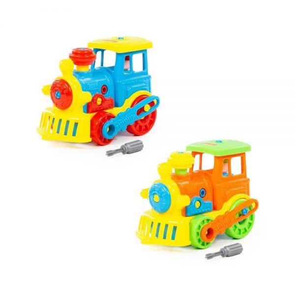 Locomotiva demontabila