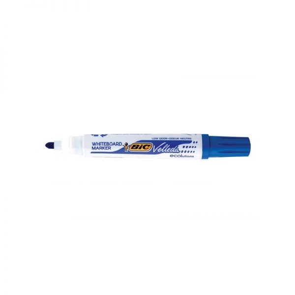 Marker ECO Velleda 1701 albastru 12/cutie - BIC