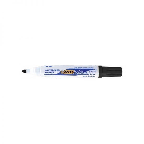 Marker ECO Velleda 1701 negru 12/cutie - BIC