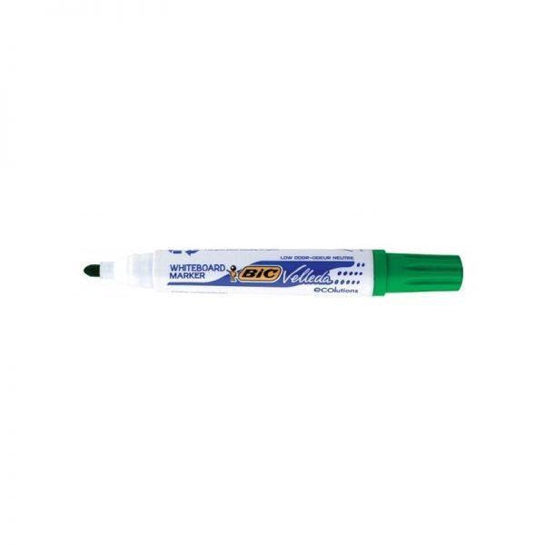 Marker ECO Velleda 1701 verde 12/cutie - BIC