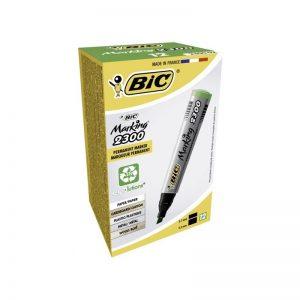 Marker permanent 2300 verde 12/cutie - BIC