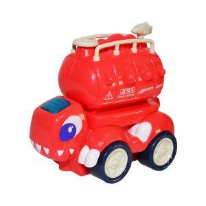 Masina pompieri/dinozaur