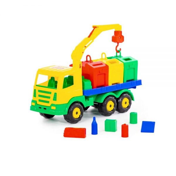 Masina salubrizare + containere - SuperTruck