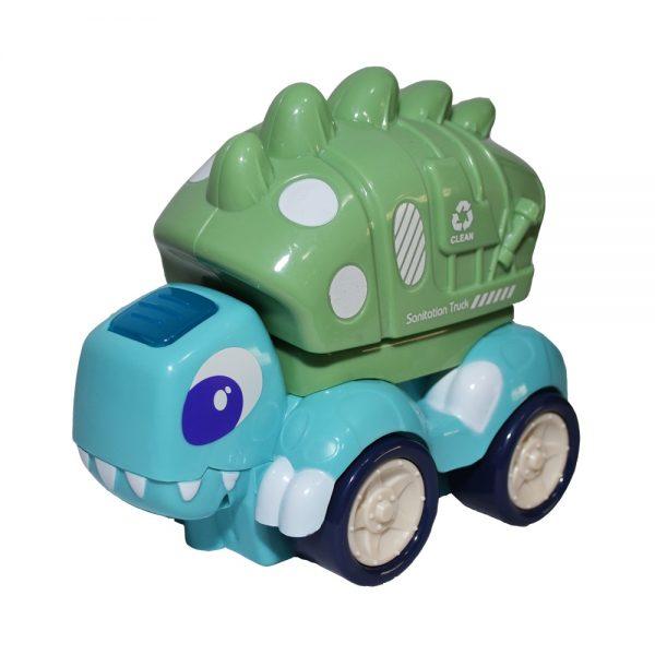 Masina salubrizare-dinozaur