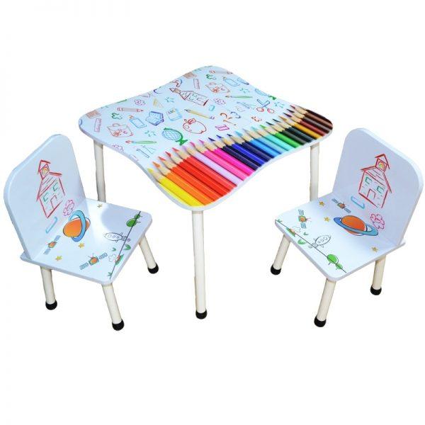 Masuta cu 2 scaunele