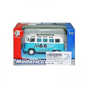 Microbuz de metal in cutie - Set 24