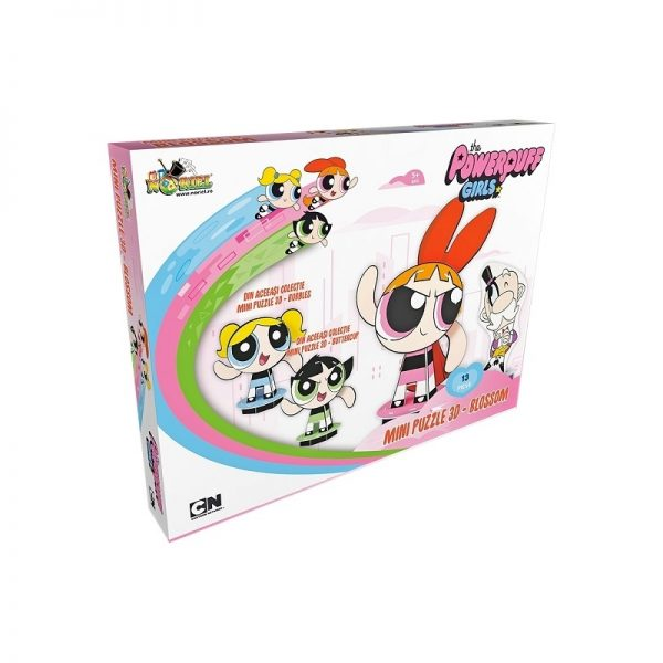 Mini Puzzle 3D Powerpuff Girls - Blossom