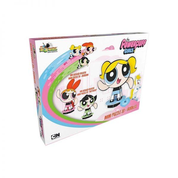 Mini Puzzle 3D Powerpuff Girls - Bubbles