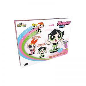 Mini Puzzle 3D Powerpuff Girls - Buttercup