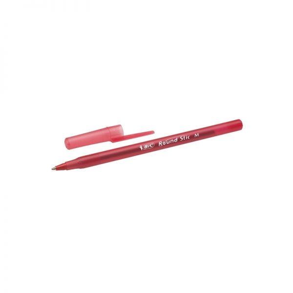 Pix Round Stic rosu 60/cutie - BIC
