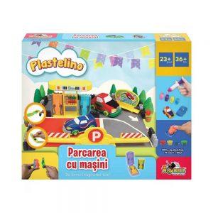 Plastelino - Curse de masini