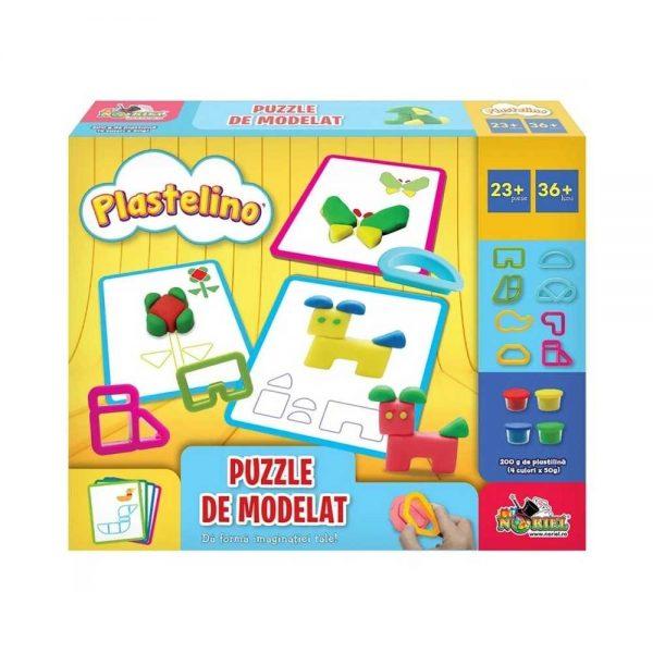Plastelino - Puzzle de modelat