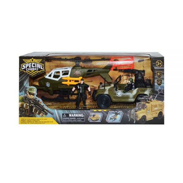 Play set armata - Soldat + vehicule