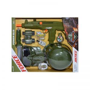 Play set armata - pistol mitraliera + accesorii