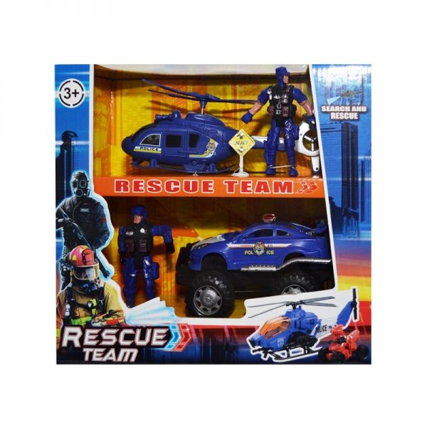 Play set politie - vehicule + figurine